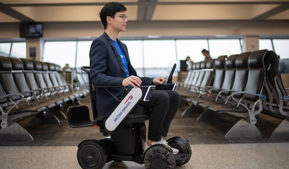 Fauteuil autonome british airways