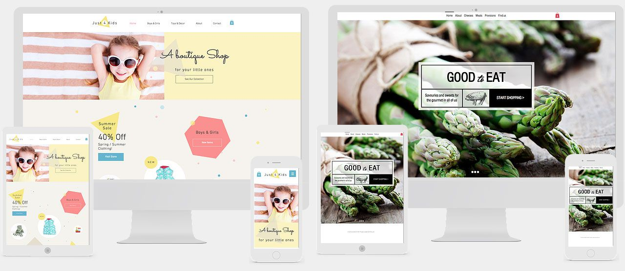 créer une boutique en ligne wix