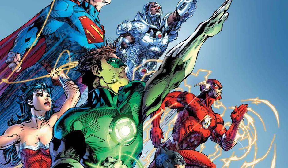 Comics crossover Black Hammer Justice League