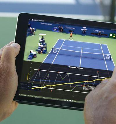 Coach Advisor est capable d'analyser les performances des tennismen.