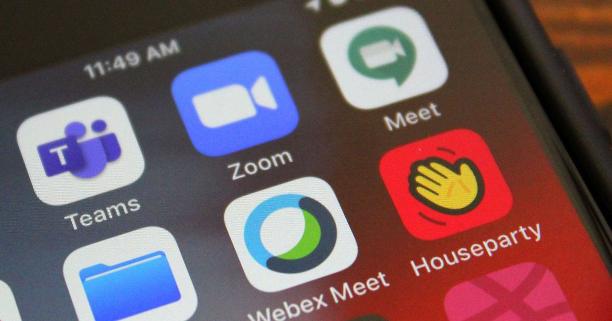 Les apps de visioconférence connaissent un pic de téléchargement record