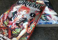 Couvertures des deux premiers tomes de Orient - Samurai Quest