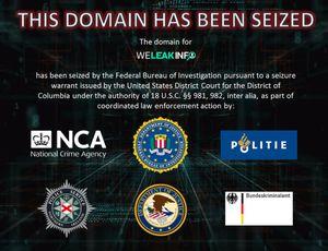 Le FBI a mis la main sur un site web frauduleux.
