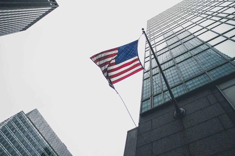 Sénat drapeau USA