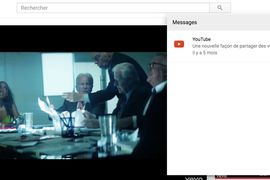 YouTube déploie sa messagerie sur le Web