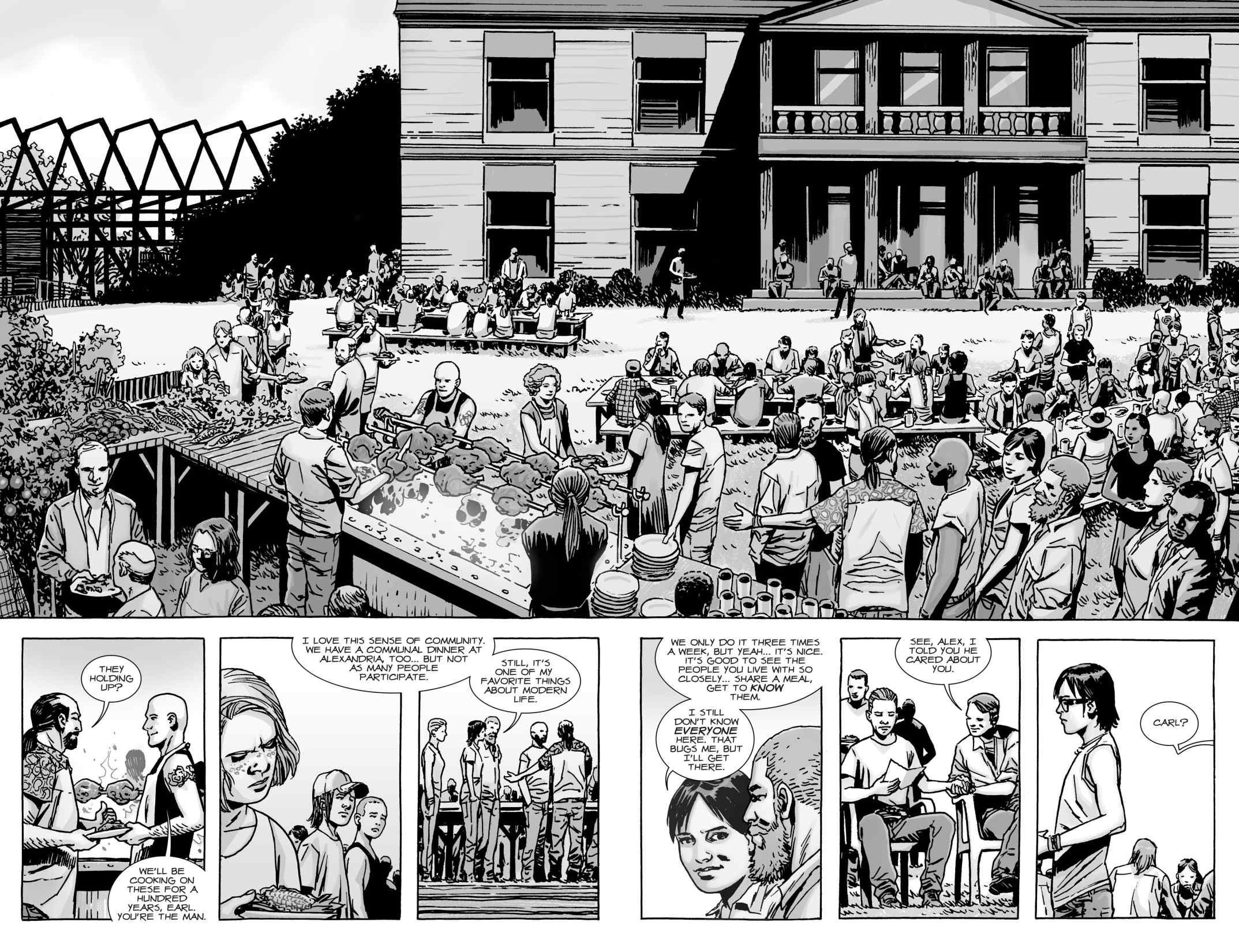 Le comics The Walking Dead aurait eu droit à un fin complètement différente