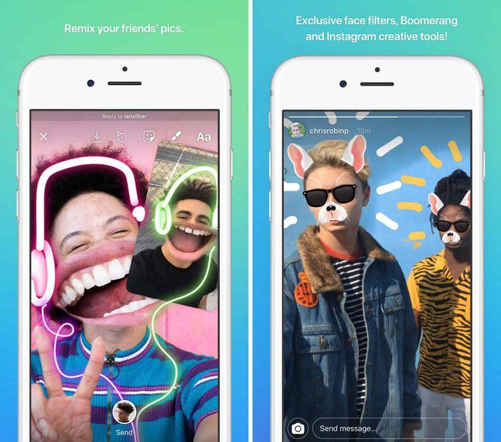 Instagram Direct app