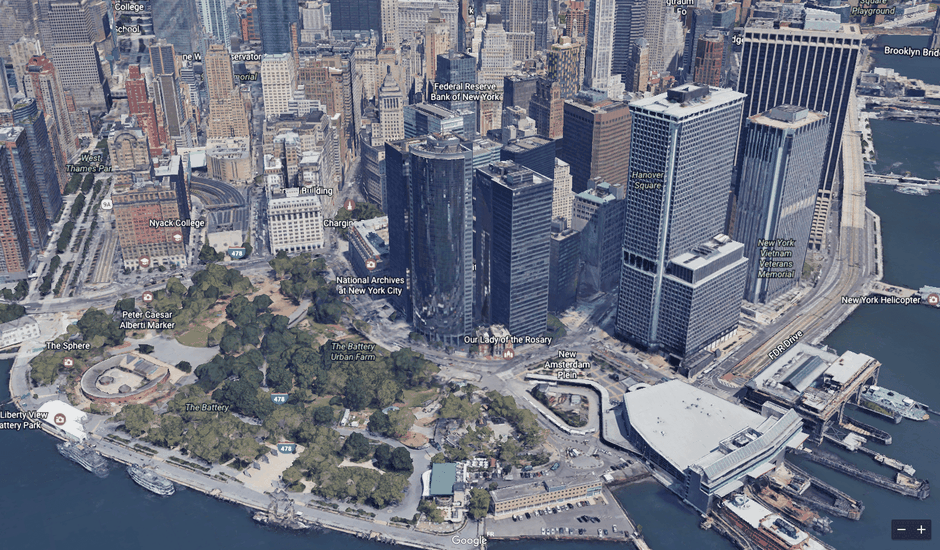 google earth New-York