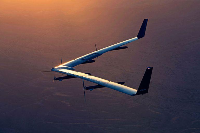 Facebook travaille sur un drone solaire.