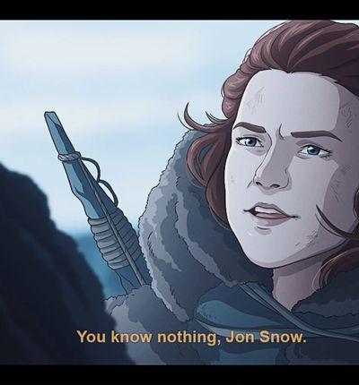 Game of Thrones en anime