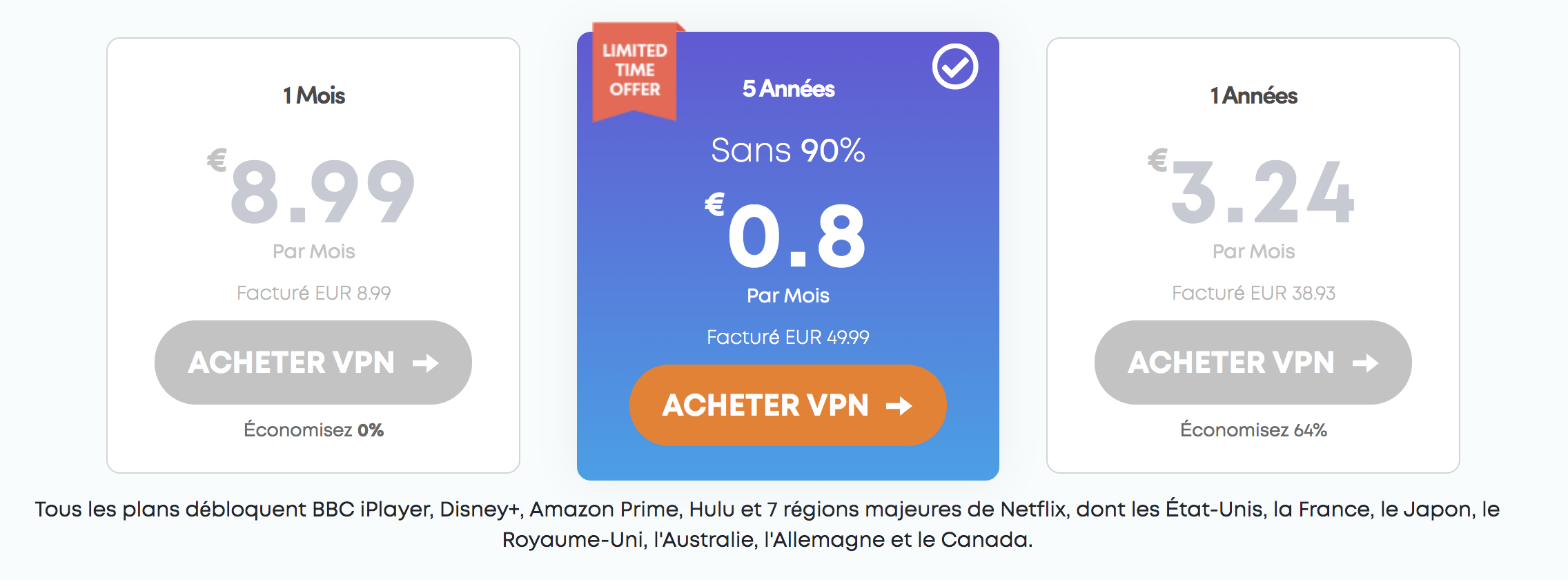 tarifs ivacy vpn
