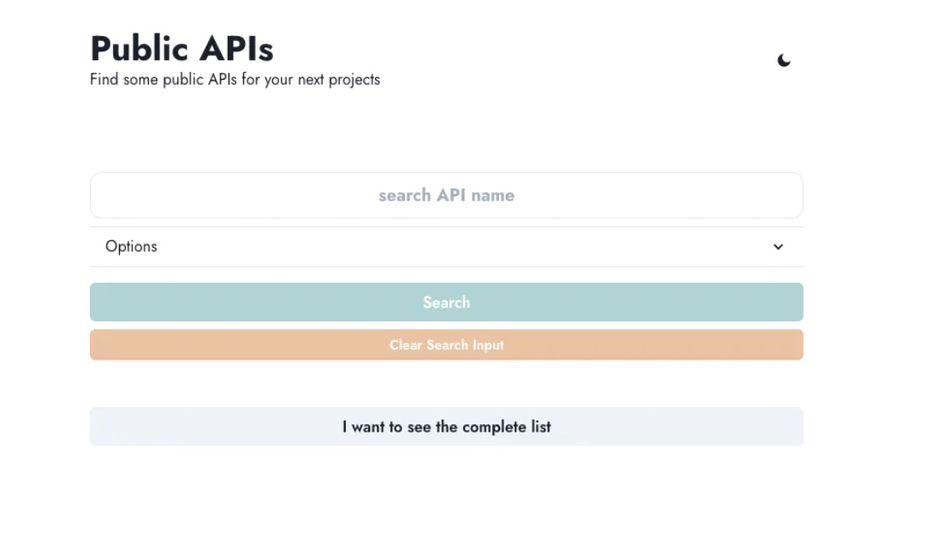 API publiques