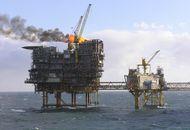 Aperçu des plateformes pétrolières de Tyra East.
