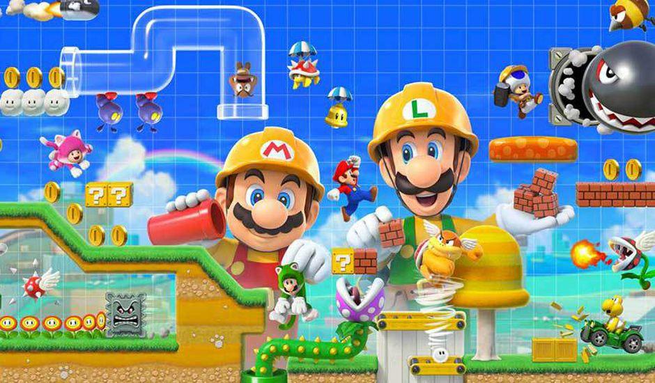 Soldes Amazon sur le jeu Super Mario Maker 2