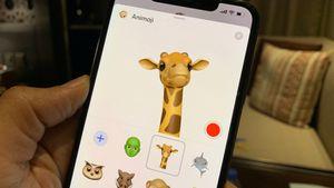 La girafe fait partie des nouveaux Animoji.