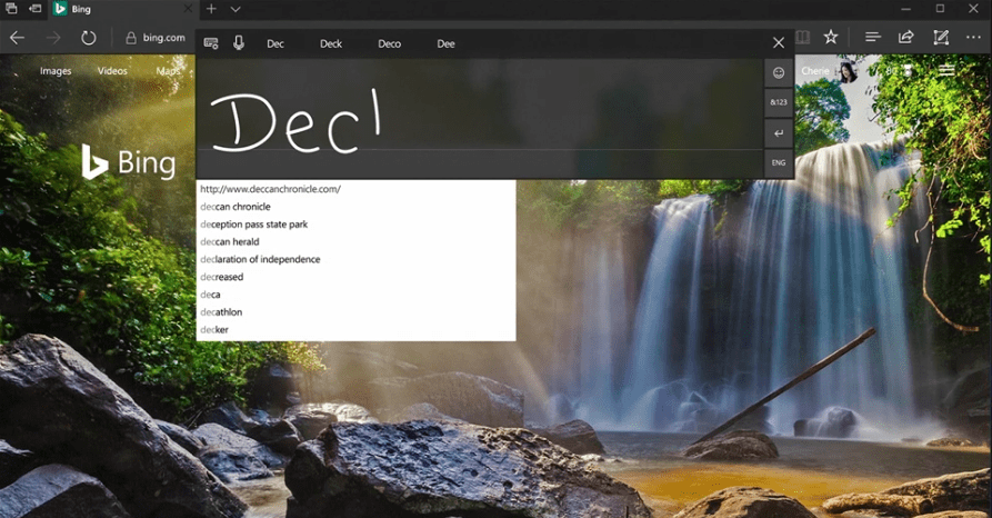 Microsoft Edge Fluent Design Microsoft