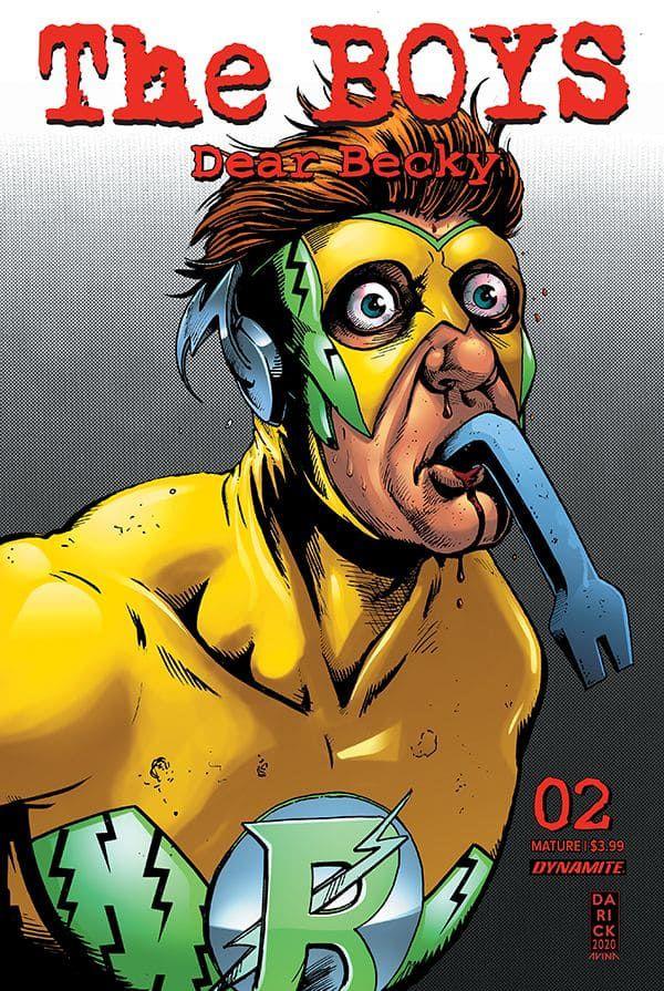 the boys dear becky #2 sequel comics 2020