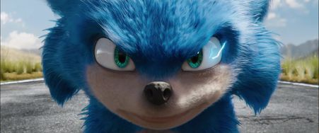 sonic le film bande-annonce personnage sonic