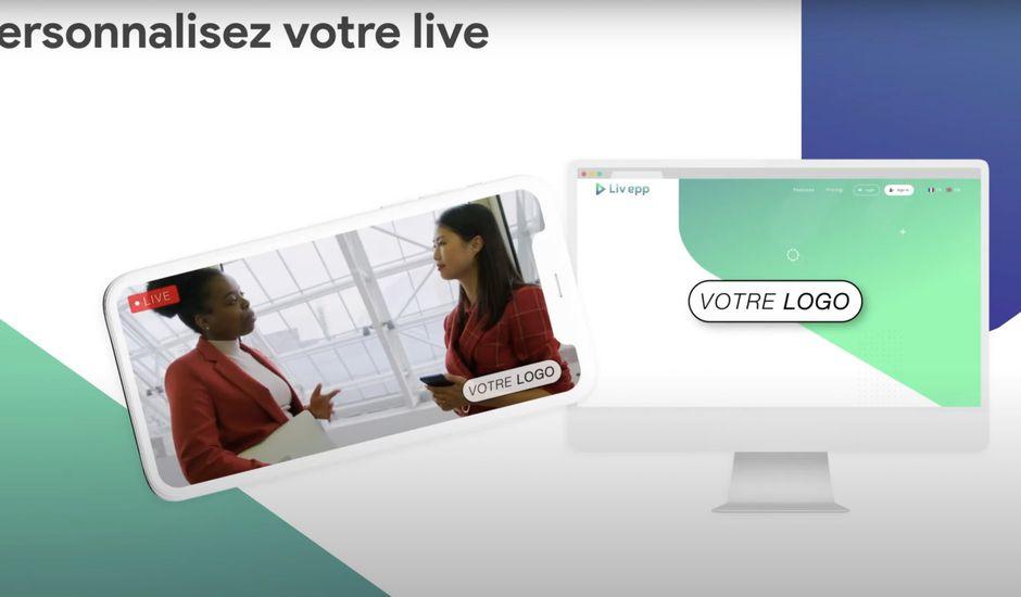 personnalisation de lives via Livapp