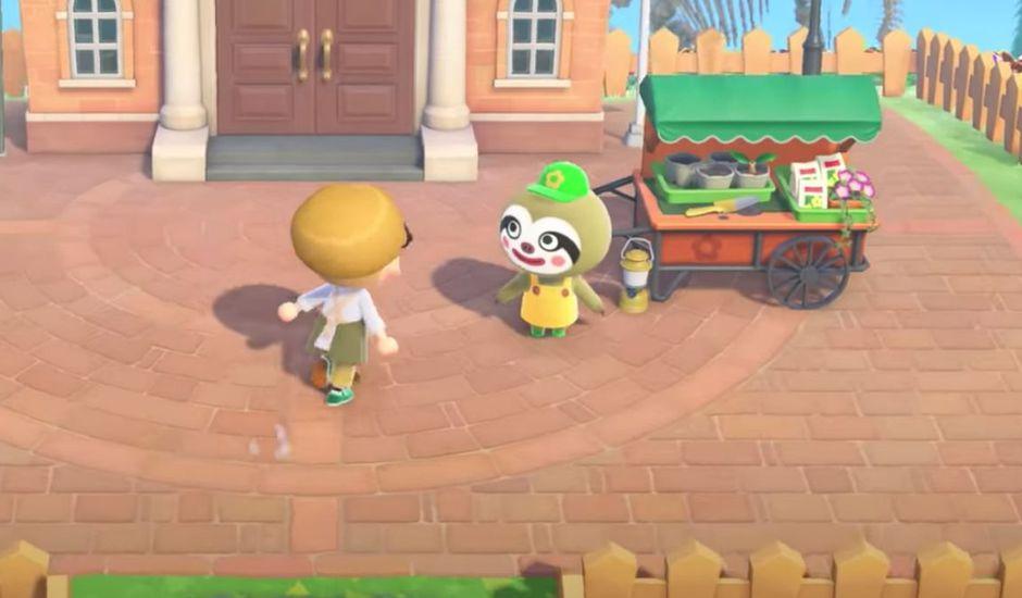 capture d'écran du jeu vidéo Animal Crossing : New Horizons avec la future mise à jour