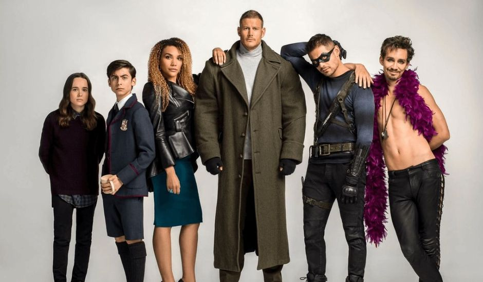 Les personnages de The Umbrella Academy