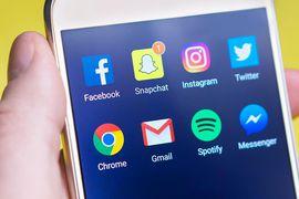 Réseaux sociaux Snapchat