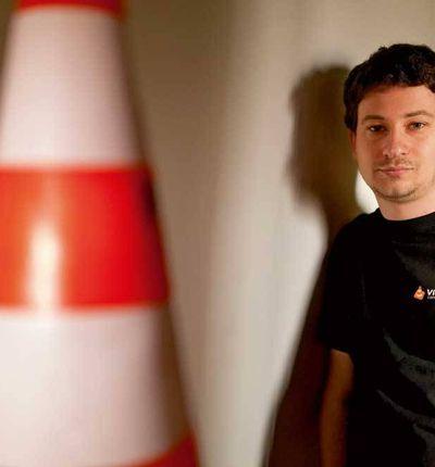 Jean-Baptise Kempf, fondateur de VideoLAN.