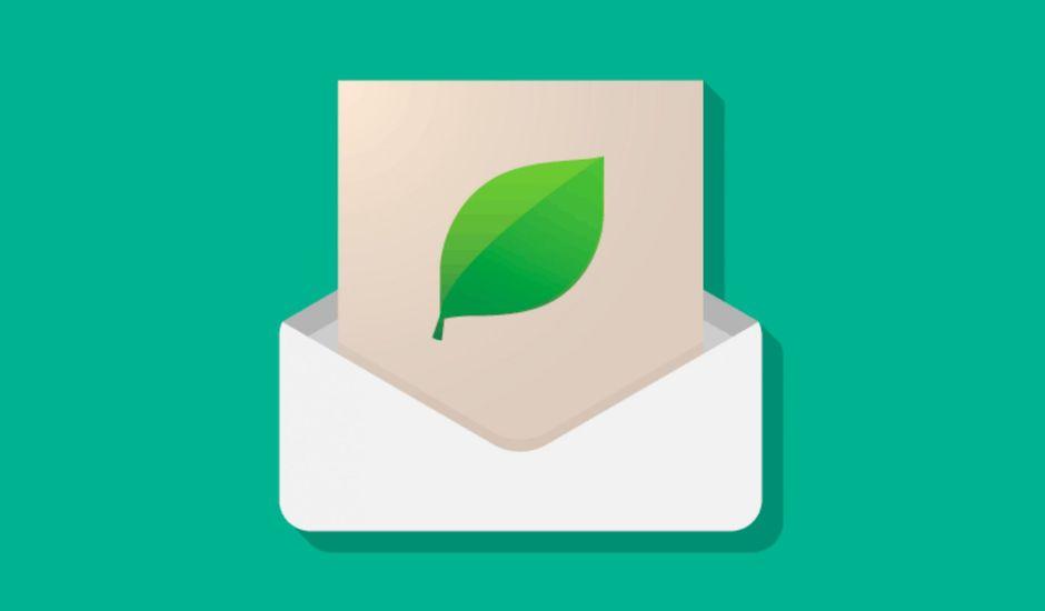 design email écologique