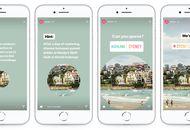 Une storie instagram publiée par Airbnb