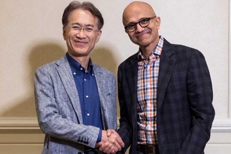 Un accord historique entre Microsoft et Sony