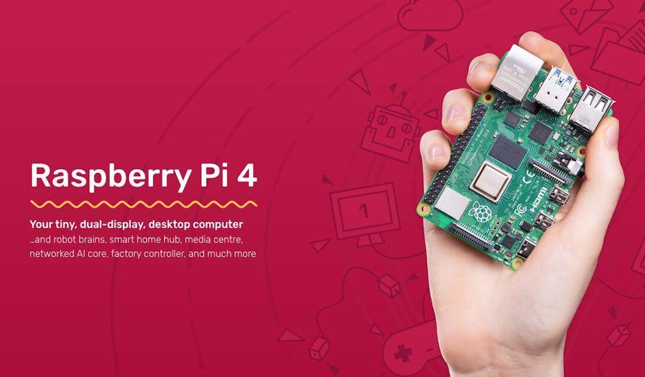 Le Raspberry PI 4 offre la qualité d'un bon ordinateur à un prix réduit