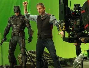 Snyder Cut Justice League reshoots