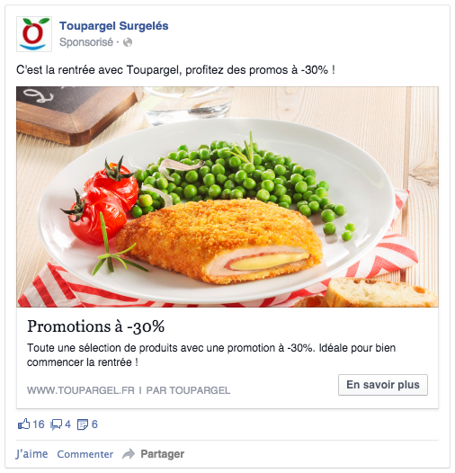 Facebook ads objectif conversions