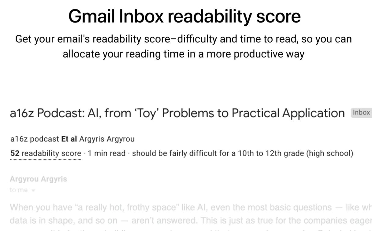 exemple score lisibilité