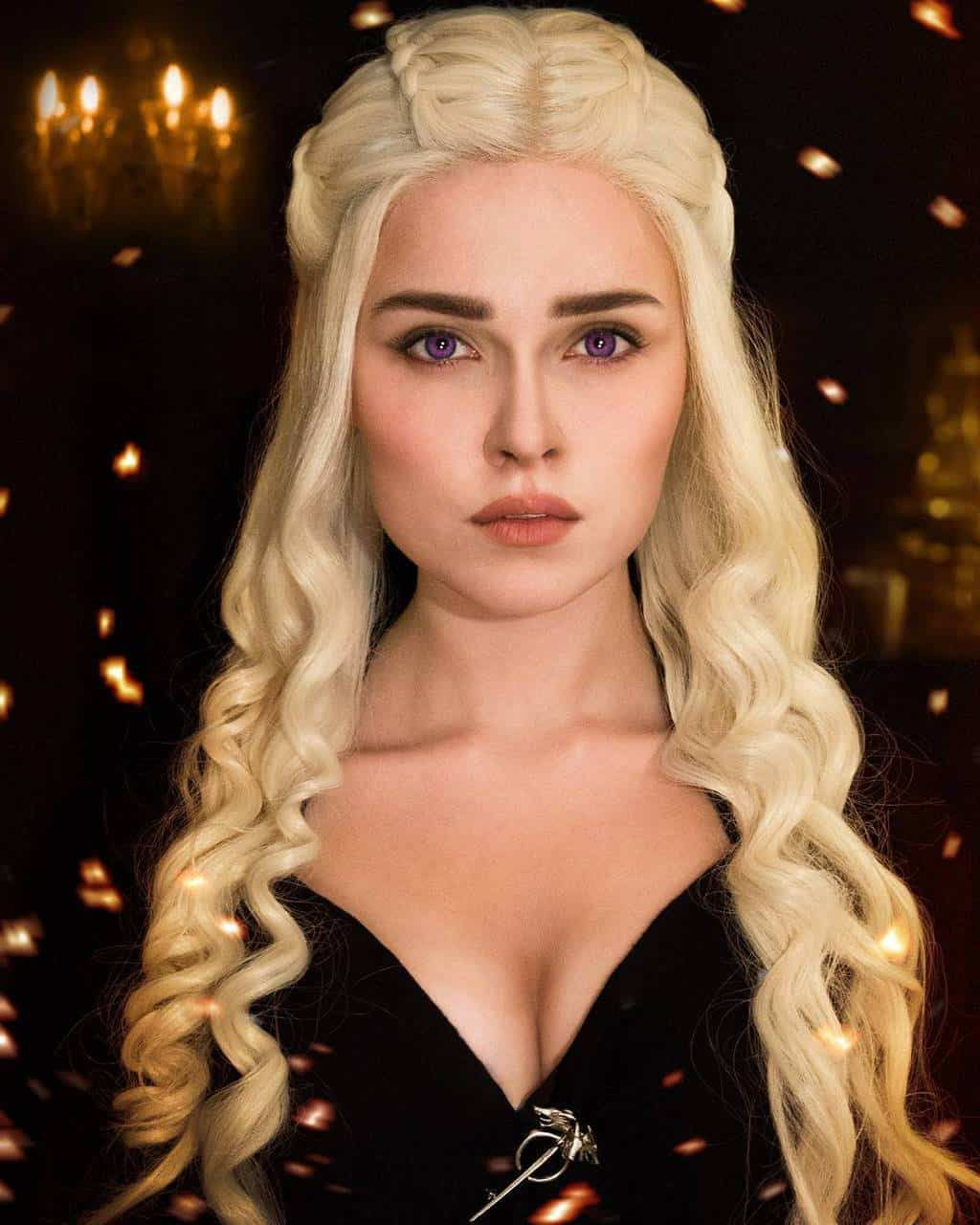 cosplay game of thrones Daenerys Targaryen