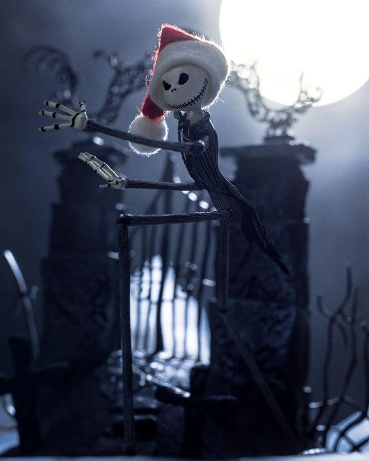 photo instagram etrange noel de mr jack tim burton figurines