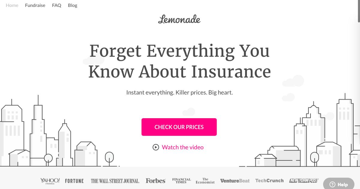 Lemonade veut révolutionner le marché français de l'assurance habitation
