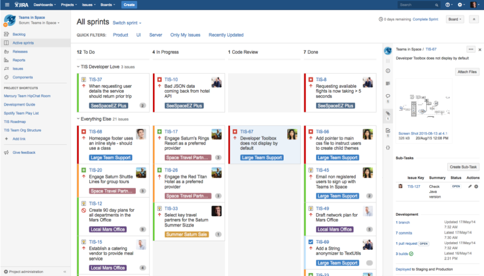 logiciel Jira gestion de tâches