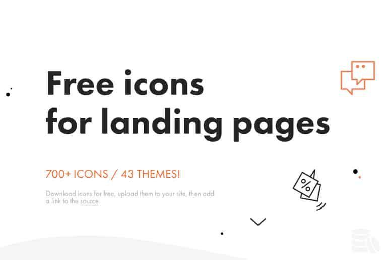 des packs d'icons gratuits pour votre business et landing pages