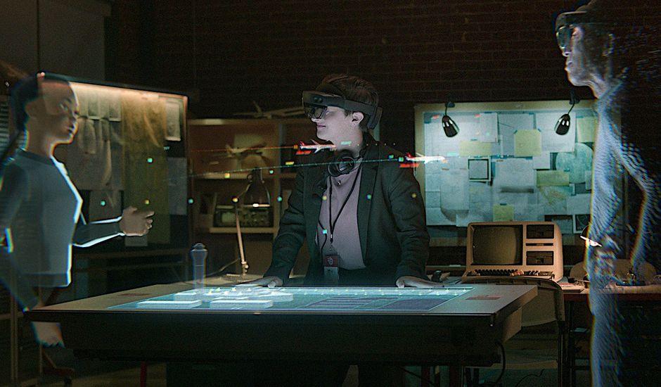 Avec Mesh, Microsoft dessine le futur des réunions virtuelles holographiques