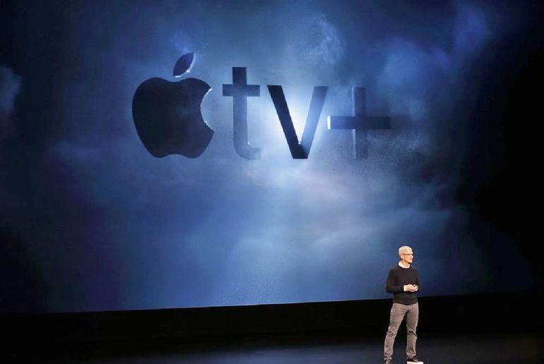 Apple lance Apple TV+ et concurrence Netflix
