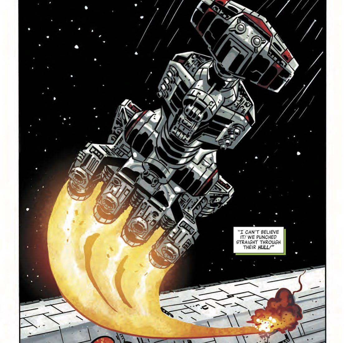Les comics Star Wars révèle l'origine de l'acte héroïque de l'amiral Holdo
