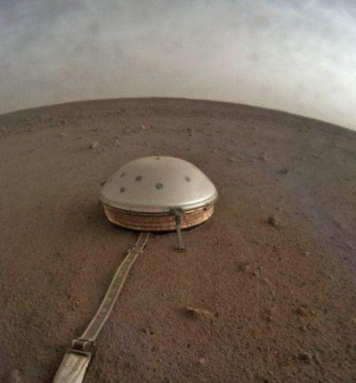 La NASA diffuse les enregistrements d'InSight.