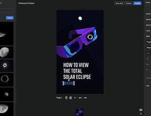 Capture d'écran du plugin wordpress AMP Stories de Google