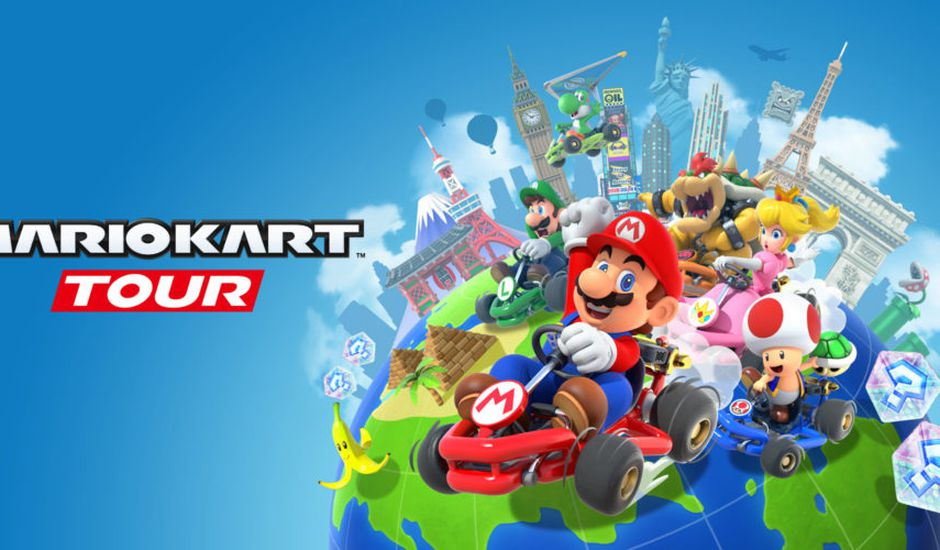 Mario Kart Tour arrive sur mobile