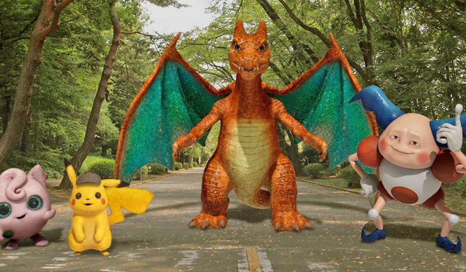 Des Playmojis Pikachu, Dracofeu et Rondoudou pour le Pixel