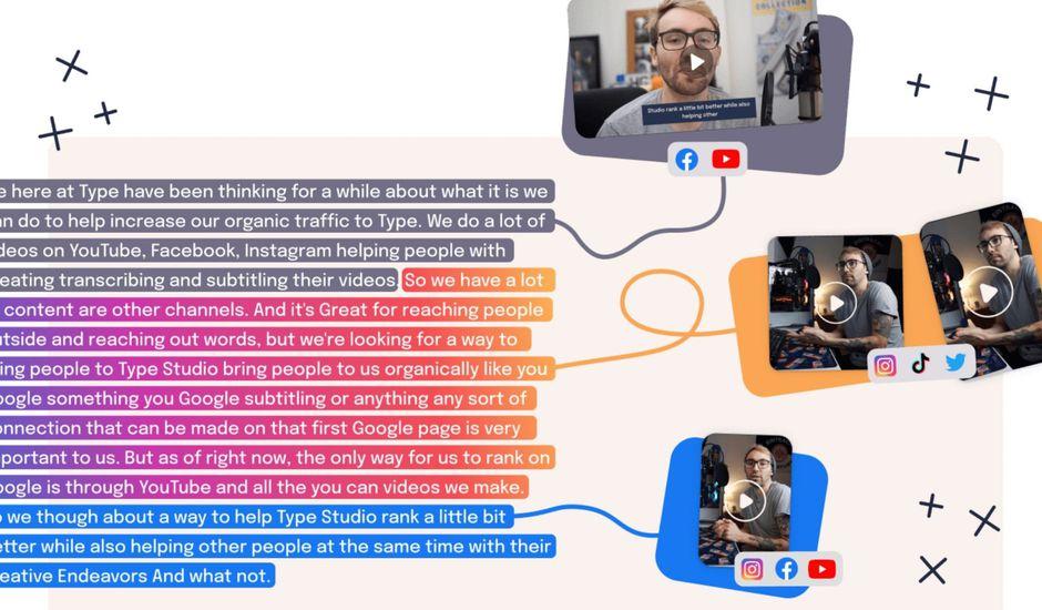 Cet outil permet de créer plusieurs vidéos pour les réseaux sociaux à partir d'un seul contenu