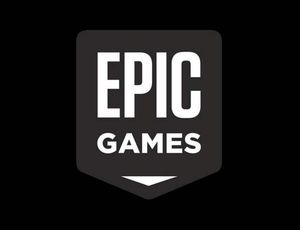 Le logo d'Epic Games.