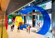 Aperçu des bureaux de Google à Dublin.