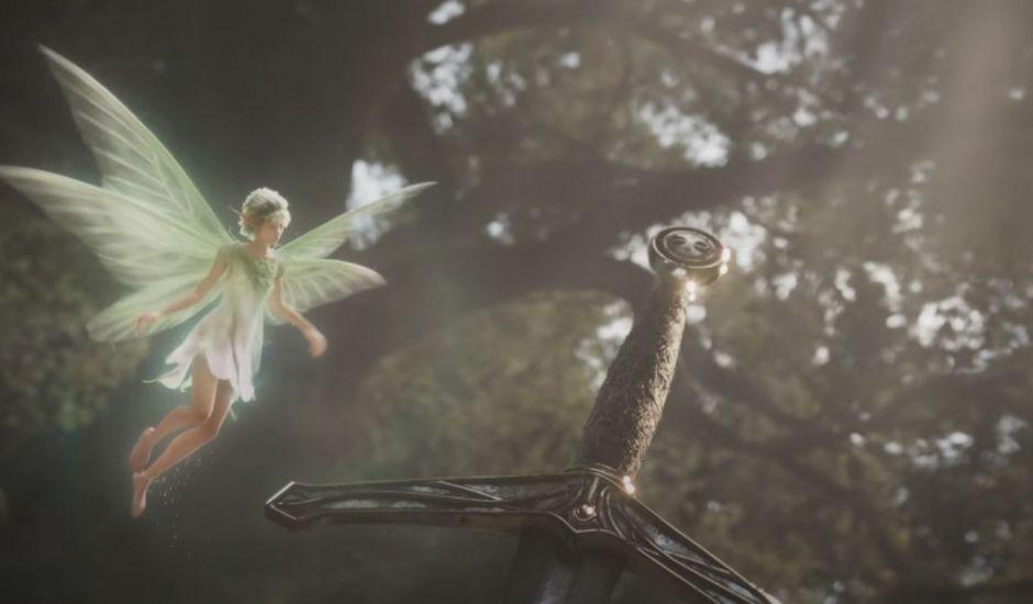 Capture d'écran du trailer de Fable